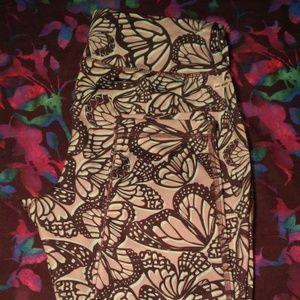 Butterfly Print Danskin Now Workout Leggings